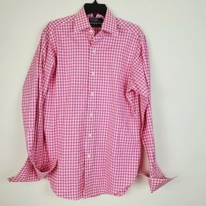 Polo Ralph Lauren Pink Check Curham Fine Two-Ply